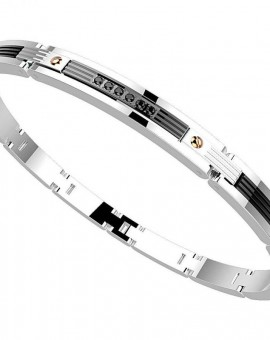 Zancan Bracciale Uomo Hi-Teck Collection EHB115